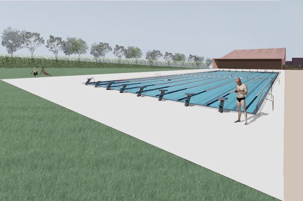 El projecte de la piscina dels jocs ja es troba en fase d for Jocs de piscina