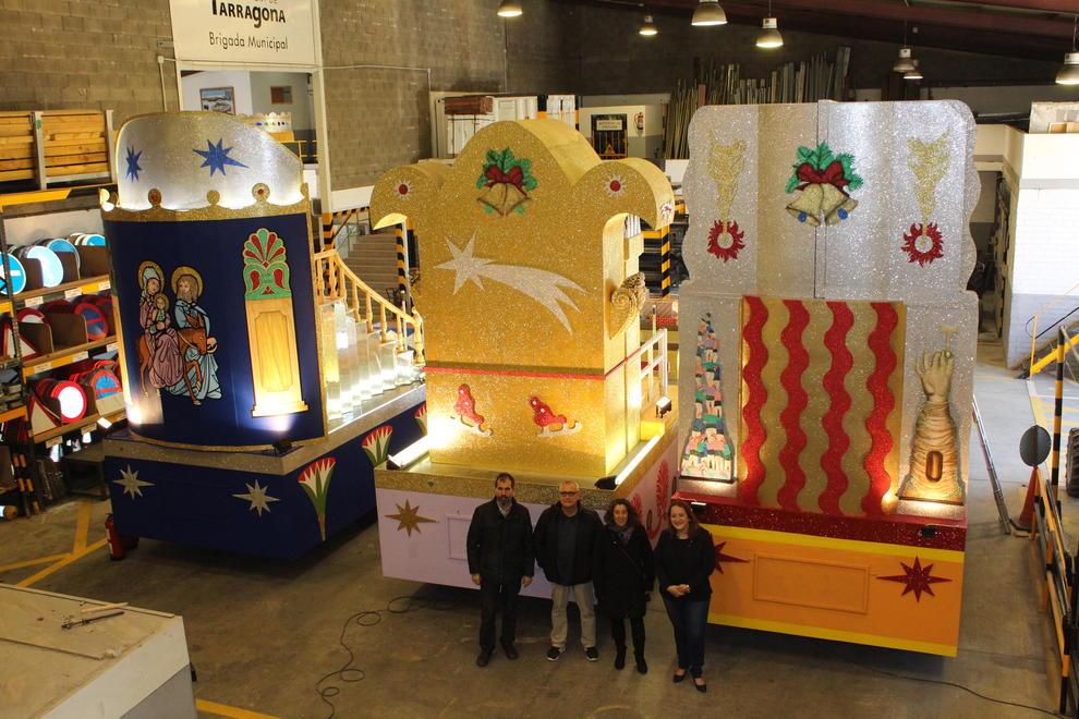 Carrozas De Reyes Magos Fotos.Los Reyes Magos De Oriente Ya Tienen Las Carrozas De