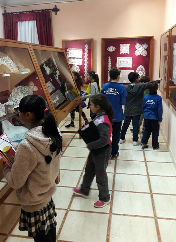 270 alumnes visiten el museu de punta al coix i l 39 escola - El tiempo en l arboc ...
