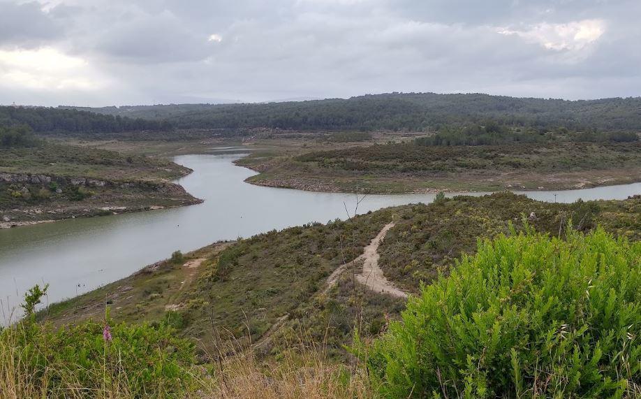 2018 escoltas besando cerca de Tarragona