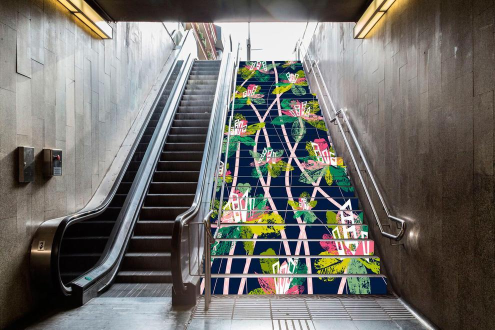 La ilustraci n de una alumna de la escuela de arte y for Escaleras 15 metros