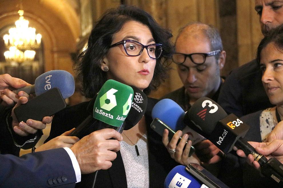 """[PSC] Eva Granados: """"En Cs son constitucionalistas de pandereta"""". _granadoseva_a78008e8"""