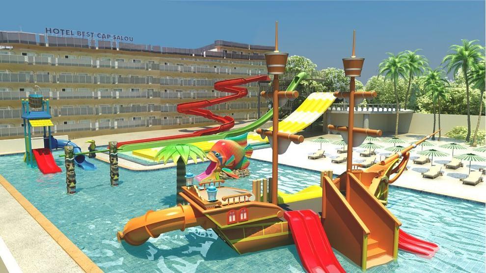 Best hotels eleva a 4 estrellas cuatro hoteles y prepara for Hoteles en salou con piscina