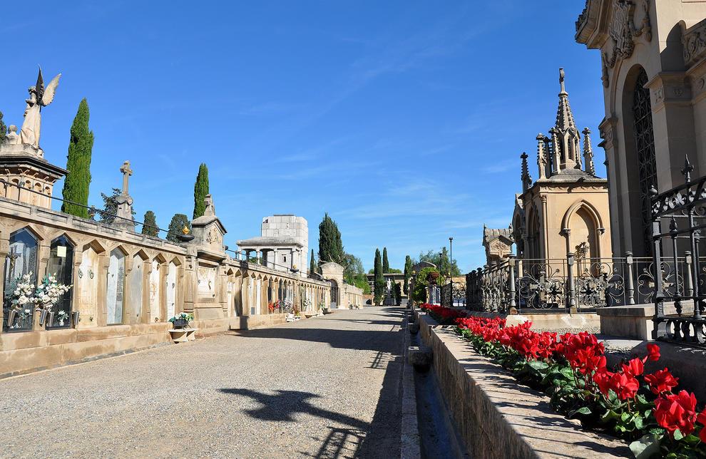 El cementerio de Tarragona, preparado por la festividad de Todos los Santos