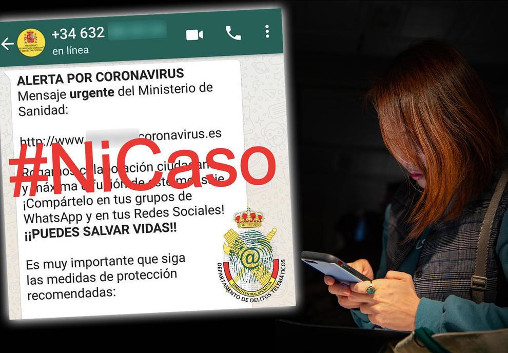 La Guàrdia Civil adverteix d'una estafa per WhatsApp que dóna ...