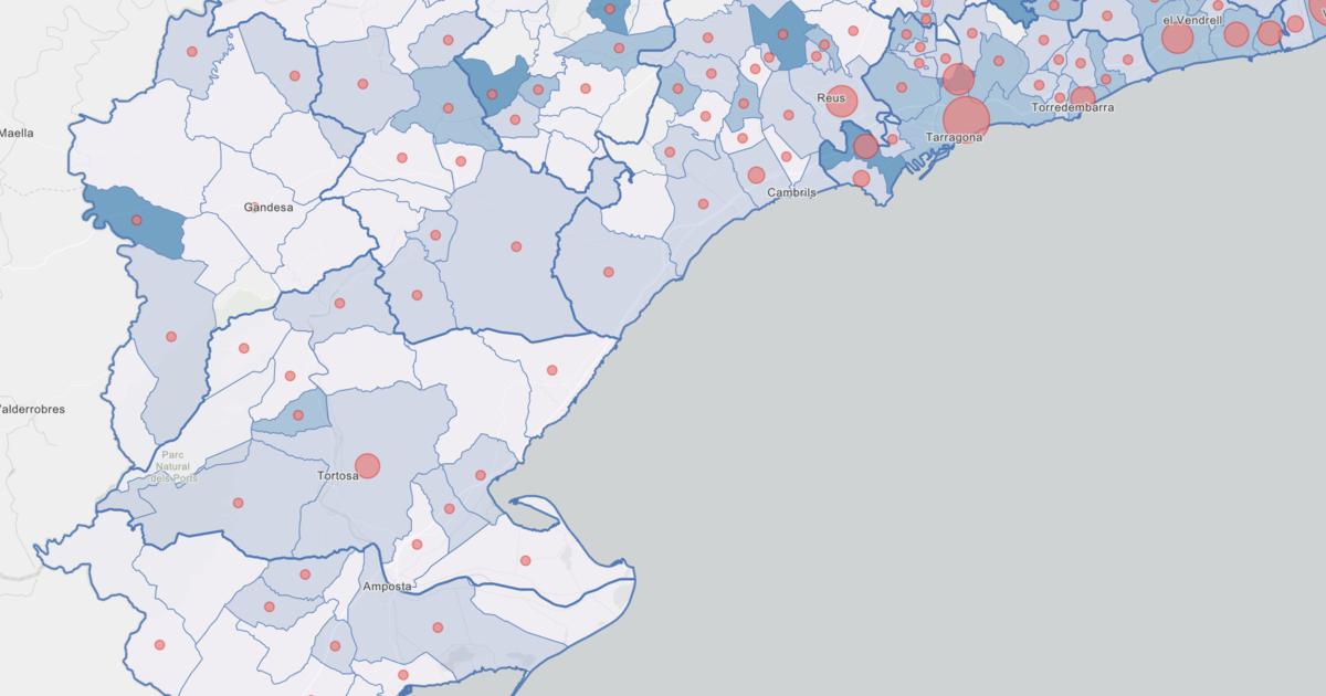 Mapa Interactiu Municipis Catalunya.Consulta Els Mapes Interactius Sobre La Covid 19 A Catalunya